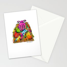 Imaginary Friend Monster Stationery Cards