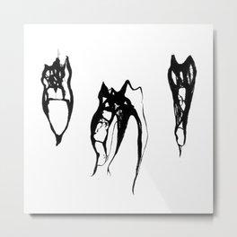 Teeth Diaphonized III Metal Print