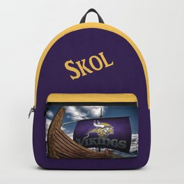 Viking Ship Backpack