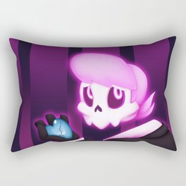 Time for Giving Up the Ghost Rectangular Pillow