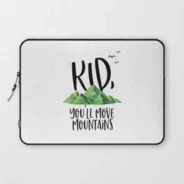 Kid You'll Move Mountains, Kids Poster, Gift For Kid, Home Decor, Kids Room Laptop Sleeve
