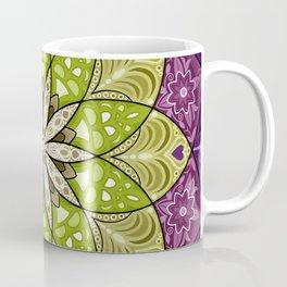 Blooming Flower Mandala Coffee Mug