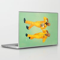 breaking bad Laptop & iPad Skins featuring Breaking Bad by Dave Collinson