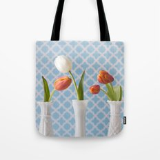 Spring Line Up - Tulips Tote Bag