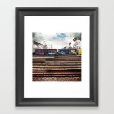 Mage Train Framed Art Print