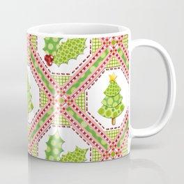 Polka Dot Christmas Coffee Mug