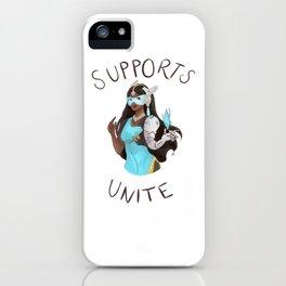 Supports unite! Symmetra iPhone Case