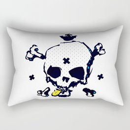 XXX Skull C Rectangular Pillow