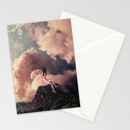 You came from the Clouds Stationery Cards