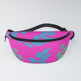 Polysexual Pride Large Floating Leafy Branches Fanny Pack