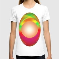 shining T-shirts featuring SHINING PEARL by Michelito