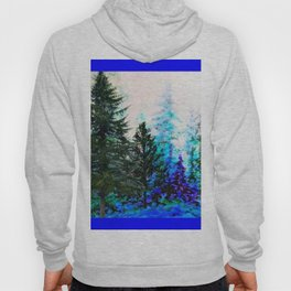 BLUE MOUNTAIN  PINE FOREST LANDSCAPE Hoody