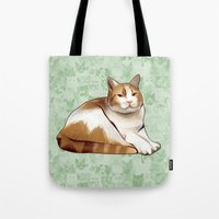 tigger Tote Bags featuring Tigger by EggsBFF