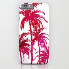 Watercolor Pink Palms Slim Case iPhone 6