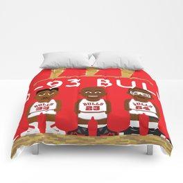 3-Peat Bulls Comforters