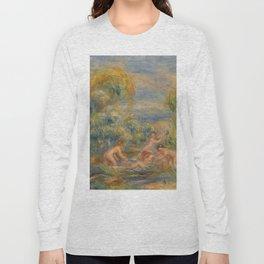 """Auguste Renoir """"Étude de baigneuses"""" Long Sleeve T-shirt"""