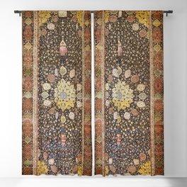Ardabil Persian Safavid Carpet Print Blackout Curtain