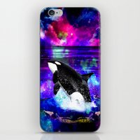 orca iPhone & iPod Skins featuring Orca by haroulita