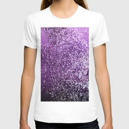 Purple Glitter #1 #decor #art #society6 T-shirt