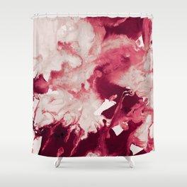 inkblot marble 12 Shower Curtain