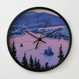 Parc National du Mont-Tremblant Wall Clock