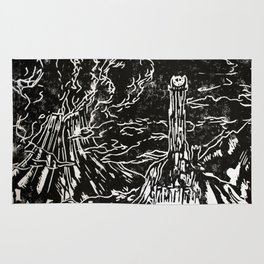 Welcome to the dark side Rug
