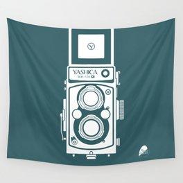 Yashica MAT 124G Camera Wall Tapestry