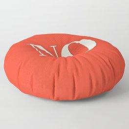 No Floor Pillow