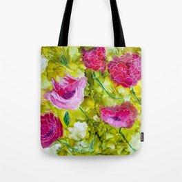 Summer Blooms Tote Bag