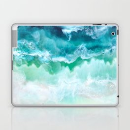 Aerial Beach Laptop & iPad Skin