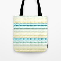 knit Tote Bags featuring Knit 1 by K&C Design