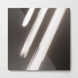 Linear Impulse Metal Print
