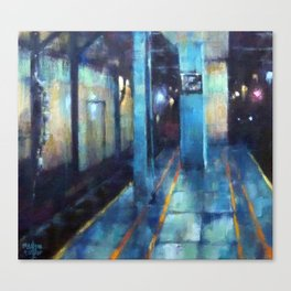 Underneath NYC: Wall St on the 2/3 Canvas Print