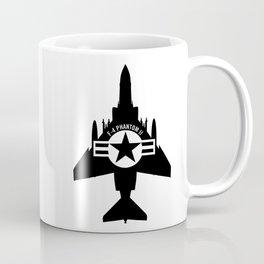 F-4 Phantom II Military Fighter Jet Airplane Coffee Mug