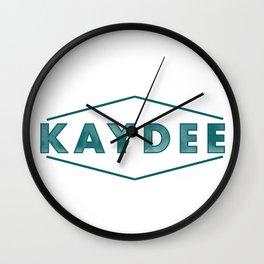 Modern Kaydee Wall Clock