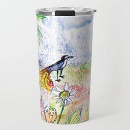 Pardise bird Travel Mug