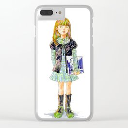 Indie Pop Girl vol.3 Clear iPhone Case