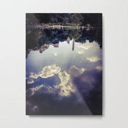 Supine Metal Print