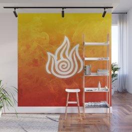 Avatar Fire Bending Element Symbol Wall Mural