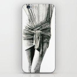 Study in Drapery iPhone Skin