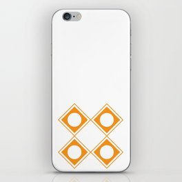 Design Principle SIX - Pattern iPhone Skin