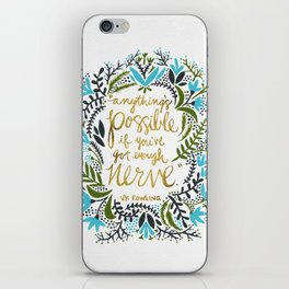 Anything's Possible iPhone Skin