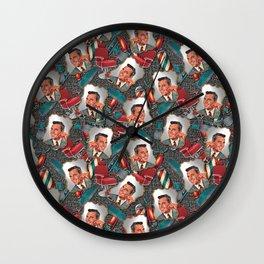 Retro Barbershop Wall Clock