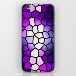 MOSAIC - VIOLET THEME - FOR IPHONE iPhone Skin