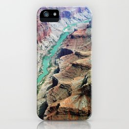 Grand Canyon Bird's eye view #4 iPhone Case