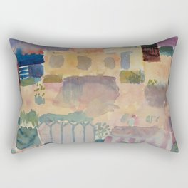 Garden in St Germain Rectangular Pillow