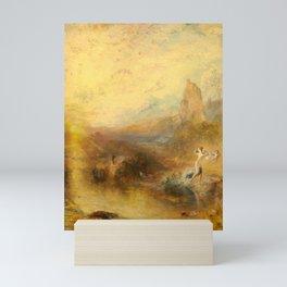 "J.M.W. Turner ""Glaucus and Scylla"" Mini Art Print"