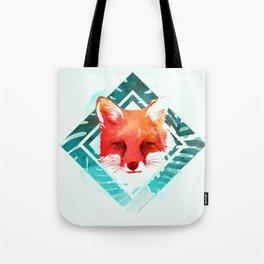 Green fox Tote Bag