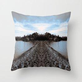 Art Print 1 Lake Superior Mirror 2 [Jordan E. Eismont, Cecilia Lee] Throw Pillow