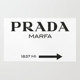 PradaMarfa sign Rug